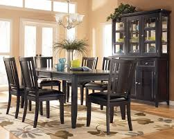 black wood dining room set for well gorgeous black wooden dining table and chairs awesome black wood dining room
