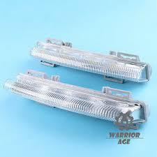 <b>2 Pcs</b> L & R Front DRL <b>Fog Light For</b> Mercedes-Benz W204 W212 ...