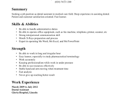 breakupus personable dental assistant resume examples breakupus fair dental assistant resume examples leclasseurcom delightful dental assistant resume example certified dental assistant