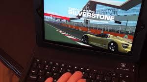 Wireless <b>bluetooth keyboard</b> with <b>leather case</b> - YouTube