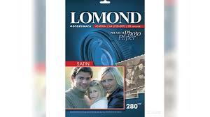 <b>Фотобумага Lomond 100x150mm</b> Матовая (Сатин) 280 г купить в ...