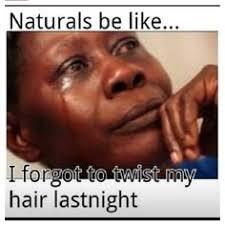 Natural hair memes on Pinterest | Meme, Natural Hair and Black Hair via Relatably.com