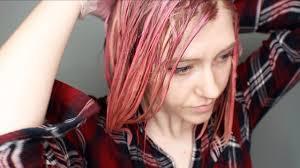 Dying My Hair <b>Pink</b> with <b>Pink</b> Flamingo La Riché Dye - YouTube