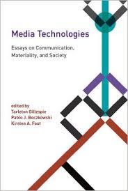 media technologies essays on communication materiality and  media technologies essays on communication materiality and society inside technology  media studies books  amazoncom