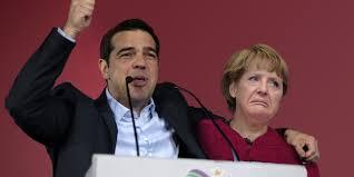 Image result for Merkel Алексис Ципрас