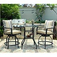 Amazon Best Sellers: Best <b>Patio Bar</b> Sets