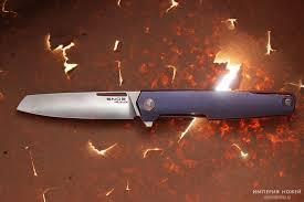 <b>Нож Snob M390</b>/Titanium Mr.Blade