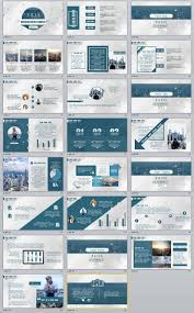 23 blue business report professional powerpoint templates powerpoint template item details