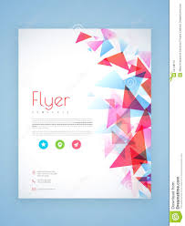 professional flyer template or brochure design stock professional flyer template or brochure design