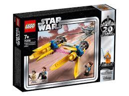 Купить <b>Конструктор LEGO Star Wars</b> 75258 Гоночный под ...