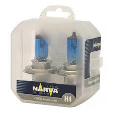 <b>Лампа</b> галогенная <b>NARVA</b> H4 <b>Range Power</b> White 12V 60/55W ...