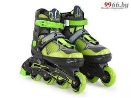 <b>Коньки Start Up Spark</b> р.L 39-42 Black-Green 360 342, цена 70 руб ...
