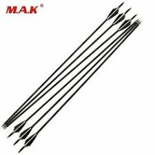 Advertisement(eBay) <b>6/12/24 Pcs</b> 30 Inches Mixed <b>Carbon Arrow</b> ...