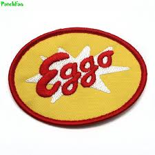 Stranger Things Eggo Waffles Logo Patches Embroidered-in ...