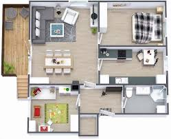Small houses  Bedroom small and Small house plans on PinterestTwo Bedroom Small House Plans Under sq ft D Designs   Patio
