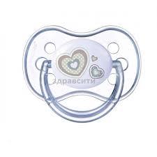 <b>Пустышка Canpol babies</b> (Канпол бейбис) силиконовая круглая ...