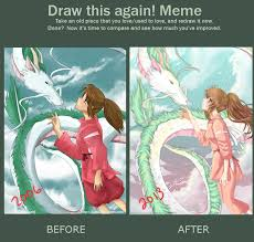 Before-After Meme (SpiritedAway) by Ayasal on DeviantArt via Relatably.com