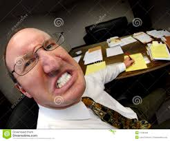 mean boss in office stock photo image  mean boss in office