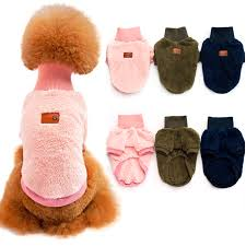 Kawaii Soft Warm Sweater Pet Jackets Sweater Coat Puppy Clothes ...