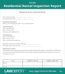 rental inspection report property inspection checklist form us sample rental inspection report