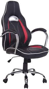HOMCOM High Back <b>Executive Racing Office Chair</b> PU Leather ...