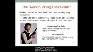 three things that an effective thesis statement should do  three things that an effective thesis statement should do