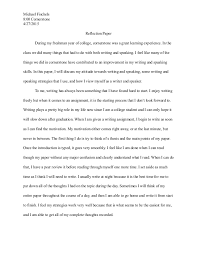 reflective essay high school students portfolio summative