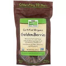 Now <b>Foods</b> Superfood <b>Golden</b> Berries