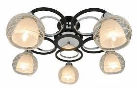 <b>Потолочная</b> люстра <b>Arte Lamp A1604PL</b>-<b>5BK</b> Ginevra