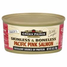 Crown Prince Natural <b>Skinless</b> & Boneless <b>Pacific Pink Salmon</b>