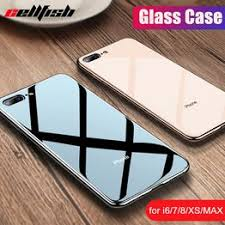 Luxury Tempered Glass Case for Apple iPhone 7 Plus 8 ... - Vova