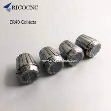 High Precision ER40 Spring Collets <b>CNC ER</b> Collects for <b>CNC</b> ...