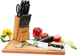 com knife set wooden block piece chef knife com knife set wooden block 13 piece chef knife b knife carving knife utility knife paring knife steak knife and scissors kitchen