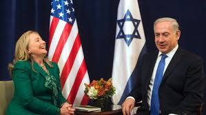Image result for hillary and israel