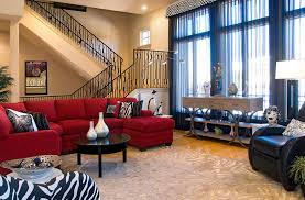 red sectional sofa family room transitional with beige area rug black beige sectional living room