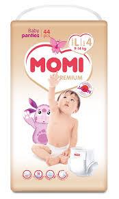 <b>Подгузники</b>-<b>трусики Momi Premium L</b> (9-14кг), 44шт. - купите по ...