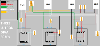 replacing 3 diva switches and 2 \