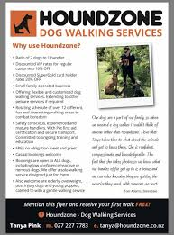 houndzone dog walking services pet services image image