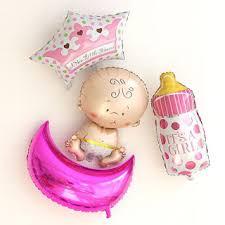 1 PCS, <b>Lovely Boy</b>/<b>Girl</b> Baby Shower Foil Giant Balloons Birthday ...