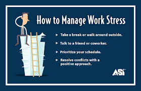infographics asi social manage your stress