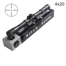 <b>Hot Sale</b> Rifle Scope Telescopic Sight 4 X 20 For Rifles Crossbows ...