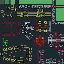 offiice furniture autocad dwg file office library bank furniture symbols cad office space layout