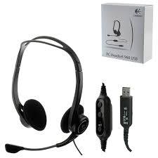 Купить Наушники с микрофоном (<b>гарнитура</b>) <b>LOGITECH PC</b> 960 ...