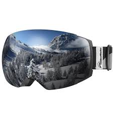 <b>Ski Goggles PRO</b> - Frameless Interchangeable Lens <b>Snow Goggles</b> ...