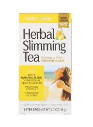 Shop 21st CENTURY Honey Lemon <b>Herbal Slimming Tea</b> 24 Tea ...