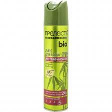 Отзывы о <b>Лак для волос Прелесть</b> Natural series Bio с экстрактом ...