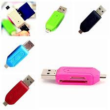 Мини <b>Полезный USB 2.0</b> Micro USB OTG Адаптер SD T-Flash ...