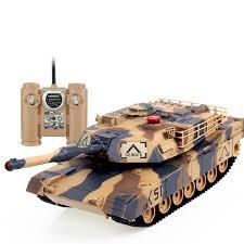 <b>Радиоуправляемый танк Huan Qi</b> Infrared M1A2 Abrams, масштаб ...