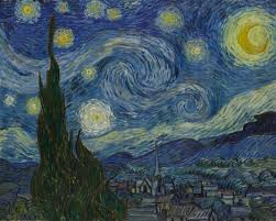 Vincent van Gogh. The Starry Night. 1889 - MoMA