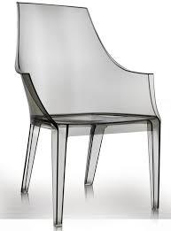 Replica Italian <b>elegant design</b> relaxing <b>plastic</b> transparent Thalya chair